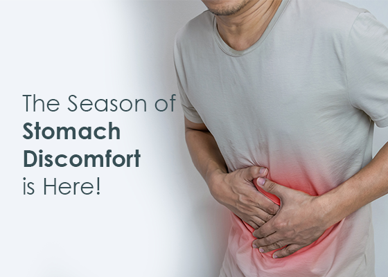 The Season of Stomach Discomfort is Here!